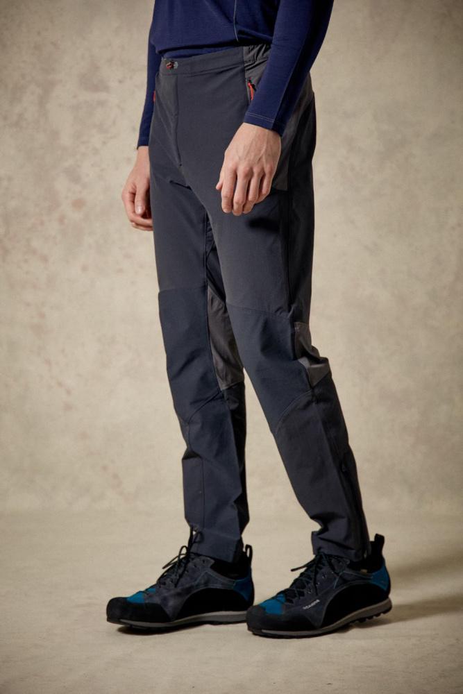 rab torque klatre og fjellbukse softshell bukse lett